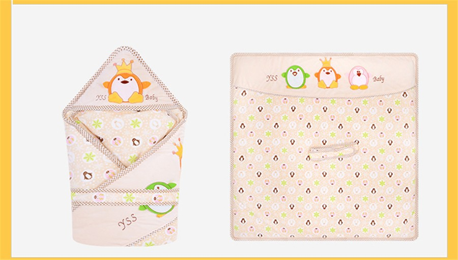 Baby Wrapped Blanket Warm Care (24)