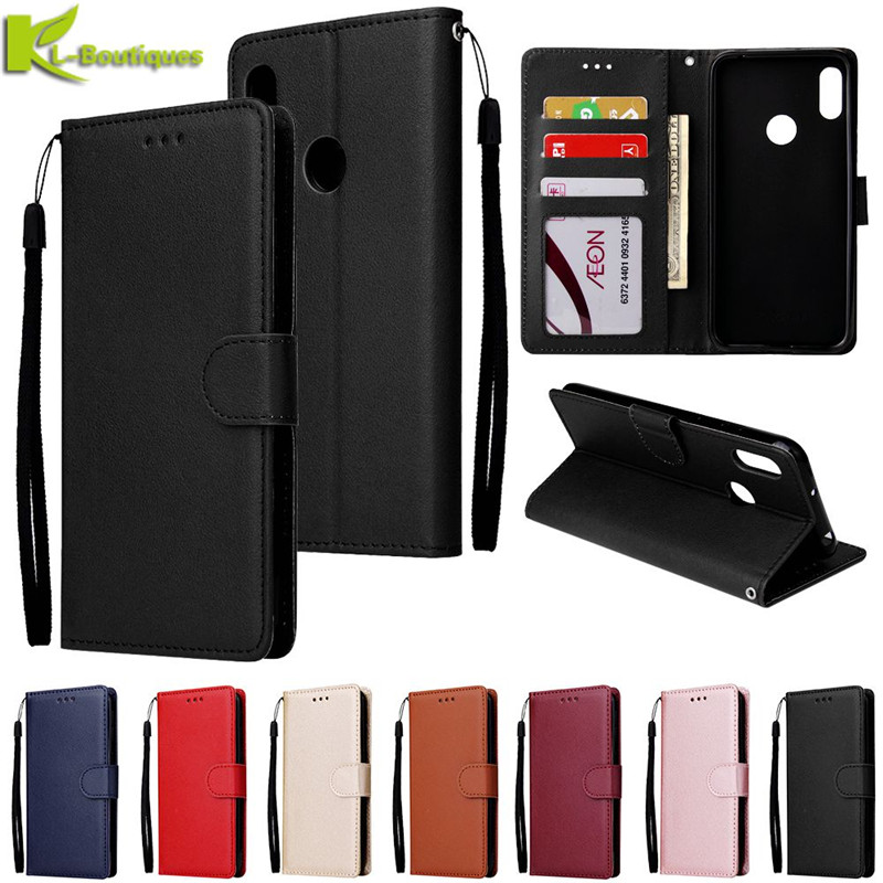 Huawei Honor 8A Leather Case On For Coque Huawei Honor 8A 8 A Cover Honor8A Case Classic Style Flip Wallet Phone Cases Women Men