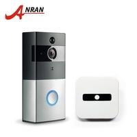 ANRAN 720P Wifi Battery Doorbell Intercom Camera Infrared Night Vision Home Wireless IP Camera PIR Alarm