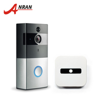 ANRAN 720P Wifi Battery Doorbell Intercom Camera Infrared Night Vision Home Wireless IP Camera PIR Alarm
