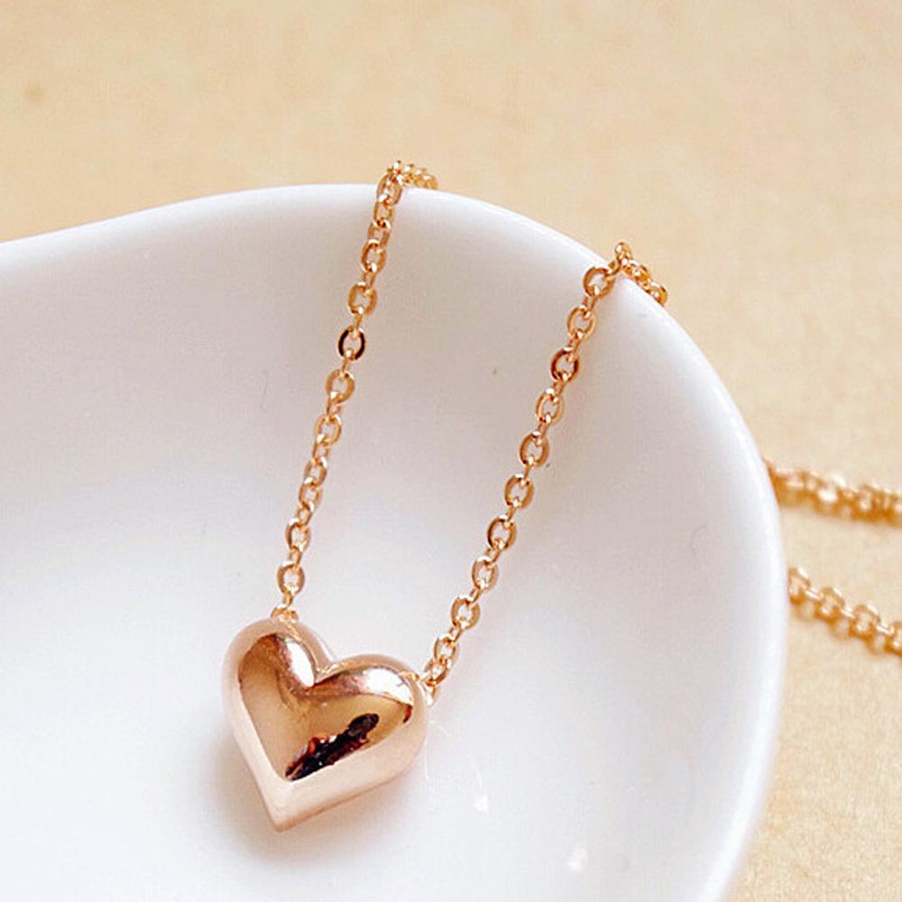IPARAM Accessories fashion elegant sweet short design gold love ...