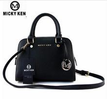 MICKY KEN Brand Cross Pattern PU Leather Handbag Women Hand Shoulder Messenger Bag 5171 # Handbags