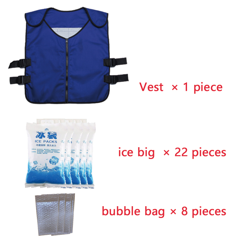 Image 3 - cooling vest Special clothing Outdoor fishing cooling clothing