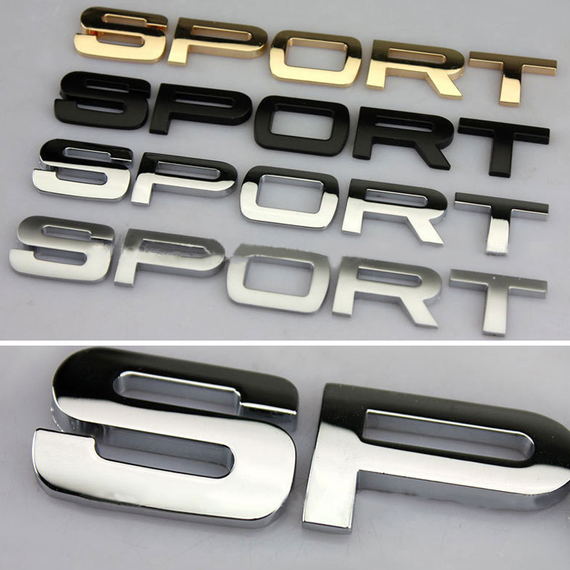 3d Metal Car Sticker Tail Emblem Badge Decal For Land Rover Range Rover Evoque Discovery 1 2 3 4 5 Freelander Defender 1 2 Sport in Car Stickers from Automobiles Motorcycles