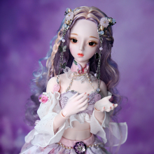 DBS DREAM FAIRY 1/3 bjd 60cm joint body doll including hair clothes shoes headdress SD Toy girl Gift