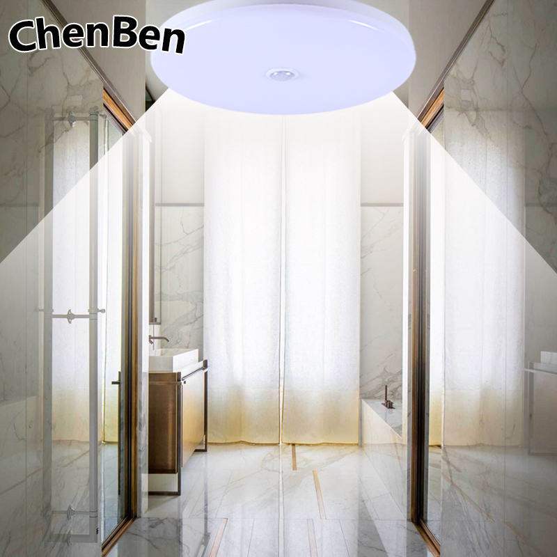 Beautiful Pir Motion Sensor Led Ceiling Light 12w 18w Modern Ufo Ceiling Lamp 50w Surface Mount Lighting Fixture For Living Bathroom 220v Lights & Lighting