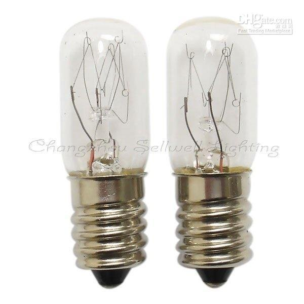 světelná lampa A302 e14 / e12 t16x48 220v 2019 Miniatura