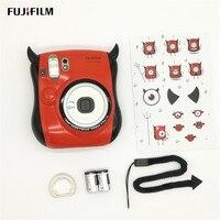 Fujifilm Маленький Дьявол Instax Mini 25 мгновенная Камера Встроенная селфи зеркальная вспышка двойные ставни Авто всплывающие линзы мгновенная кам