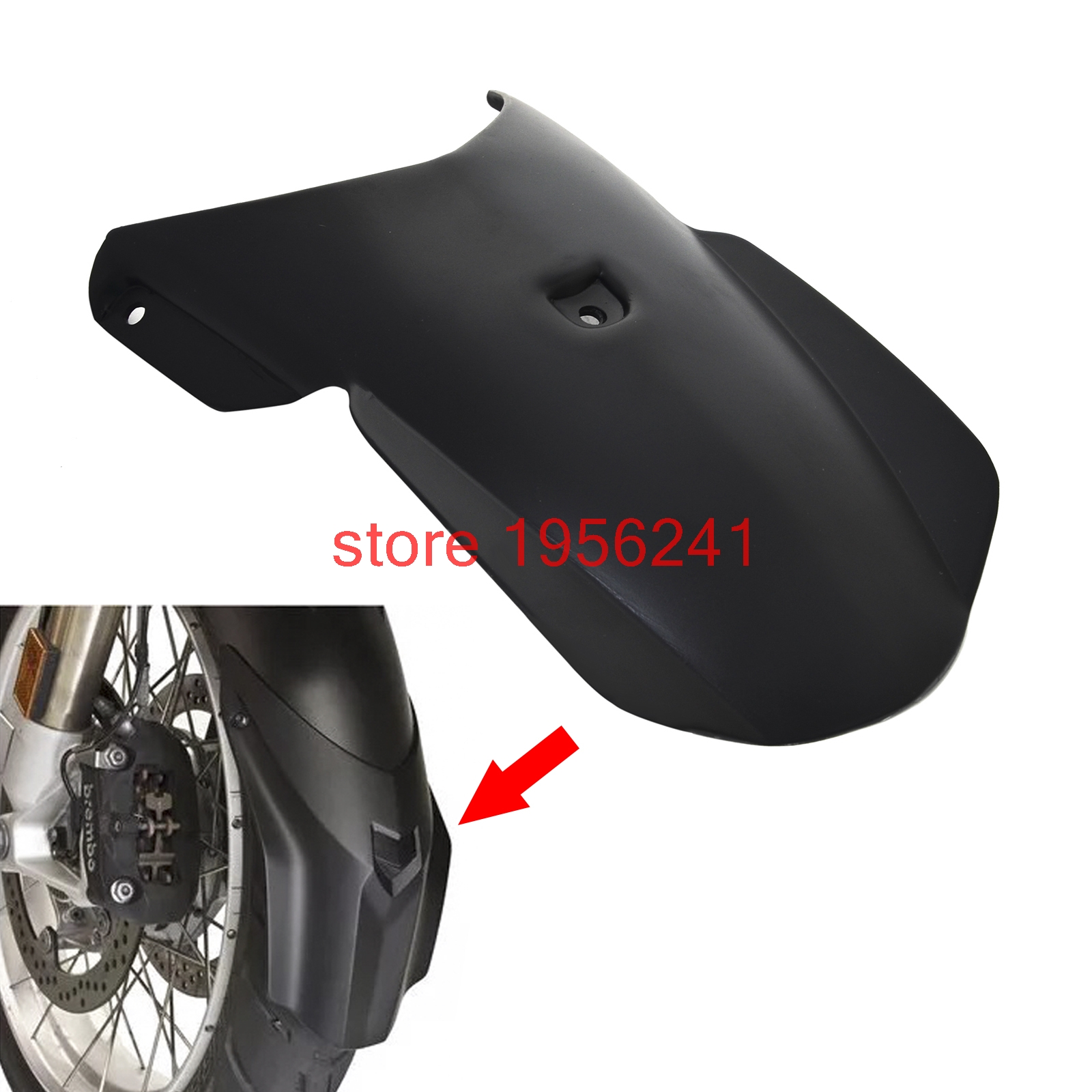 Motorcycle Front fender extension Extender for BMW F800GS F650GS 2008-2017 F800 GS Adventure 2013 2014 2015