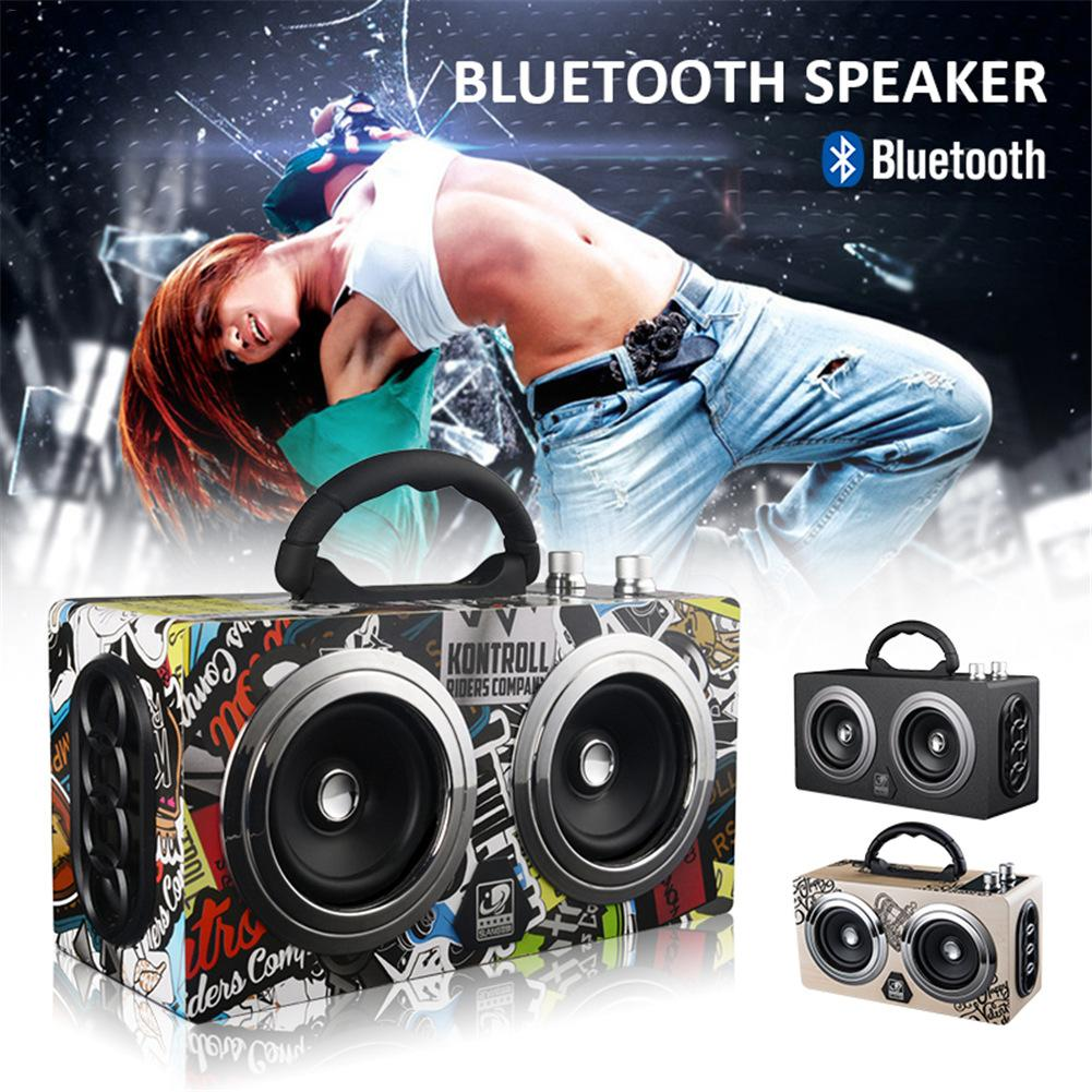 M8 Wireless Bluetooth Pluggable Card Mini Speaker Square Dance High Power Portable Speaker Car Outdoor Radio Subwoofer цена