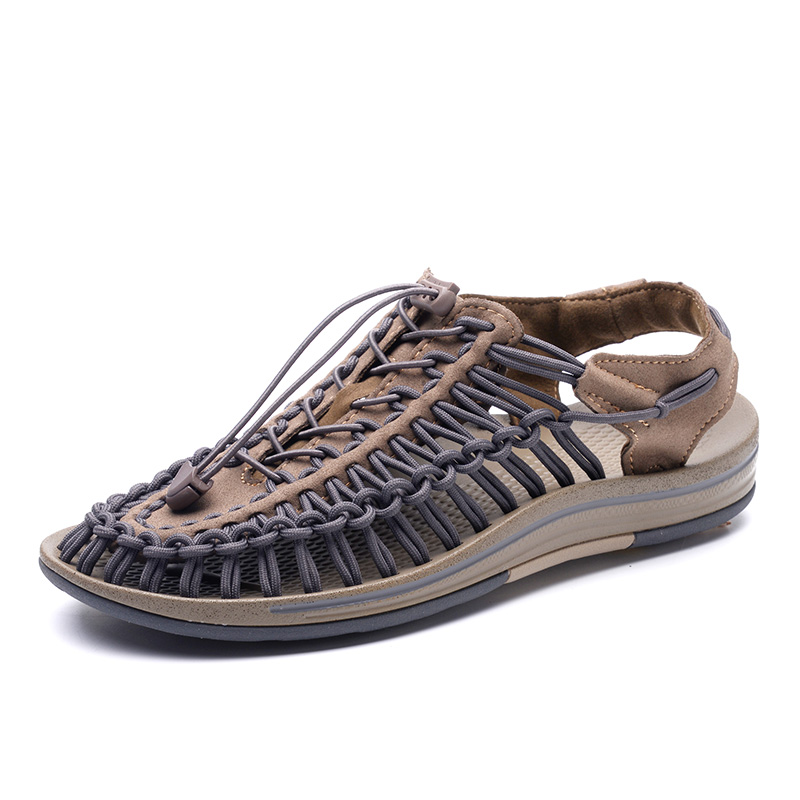 2018 Summer Sandals for Men, Women,Boys and Girls Breathable Walking Shoes Woven Upper Slip-on man Beach Sandals Fashion Shoes ribetrini 2018 top quality slik upper crystals slip on spring summer shoes women flats comfortable date easy for walking
