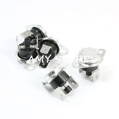 все цены на 5pcs250V 10A NC Normal Closed 45C-135C 50/60/65/75/80/85/90/97/100/130C Manual Reset Temperature Switch Thermostat KSD301/KSD303