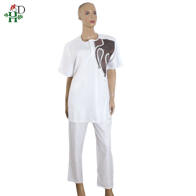 african dresses for women and men african couple clothing cotton polyester bazin riche tops pant suit africa Dashiki Couples in Africa Clothing from Novelty Special Use