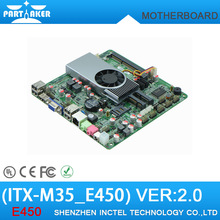 ITX-M35_E450 mini itx motherboard Ultra thin all in one motherboard with HDMI /VGA/ LVDS