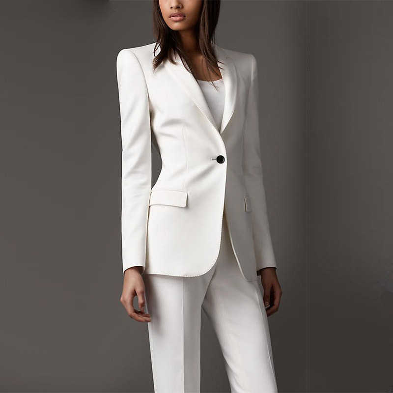 New Women Suit Business Spring Pant Suits Women Summer Business Suits Female Formal Work Wear 2 Piece Female Trouser Suits