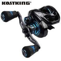KastKing 2019 nouveau Crixus Super léger Baitcasting moulinet de pêche double système de frein eau douce 8KG glisser coulée bobine de pêche bobine