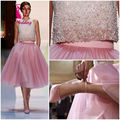 New Design Pink Pearl Beading Luxury Women Short Cocktail Dresses Custom Made Size 2 4 6 8 10 12 14 16 18++