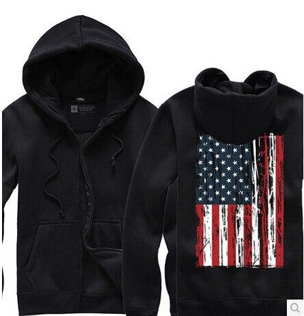 Compra bandera americana sudadera con capucha online al
