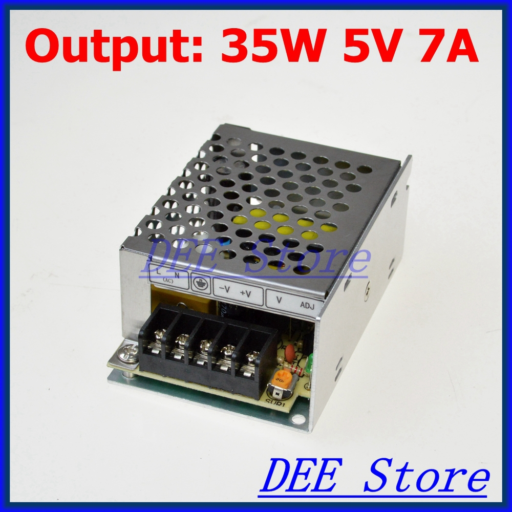 M-35-5 LED-35 Led driver 35W 5V 7A Single Output Adjustable Switching power supply for LED Strip light AC-DC Converter лак для ногтей orly french manicure color 494 цвет 494 deja vu variant hex name fbd7b7