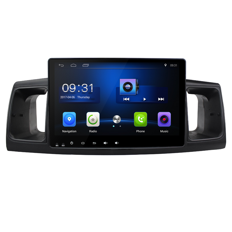 Quad Core Android 6.0 1G RAM Car Radio for TOYOTA Corolla E120 EX 2004-2013 with GPS Navigation steering wheel Free map