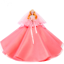 лучшая цена Wedding Princess Dolls Toys For Girls Changeable Style Dolls Lol Toys For Children Toy Girl New Year's Gift Birthday Gift