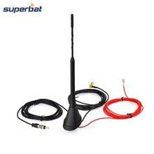 Superbat SMB Universal Dachmontage Digitale Dab-antenne mit Verstärker für DAB DAB + AM/FM Autoradioantenne luft