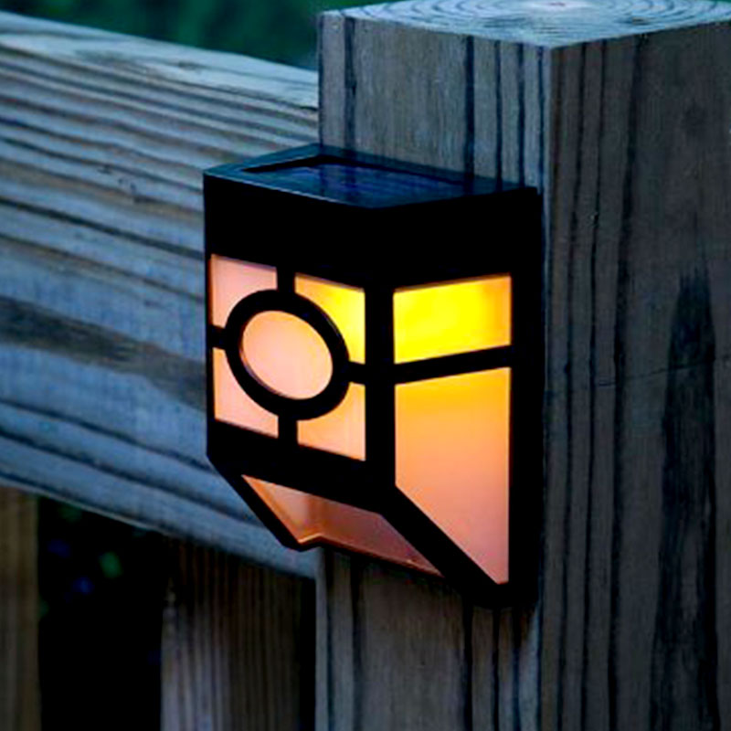 Solar Lamp Garden Light Solar Outdoor Lighting Decoration 2 LED Wall Lamps Battery Powered Generators Courtyard Street Lights