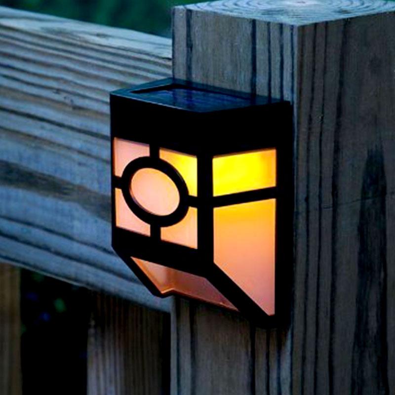 Lâmpadas Solares lâmpada solar do jardim luz Fonte de Luz : Lâmpadas Led