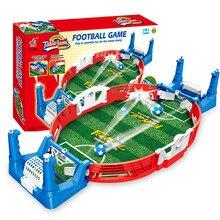 Мини-набор для игры в футбол, Настольный Набор для игры в футбол, детские развивающие спортивные портативные настольные игры на открытом во...