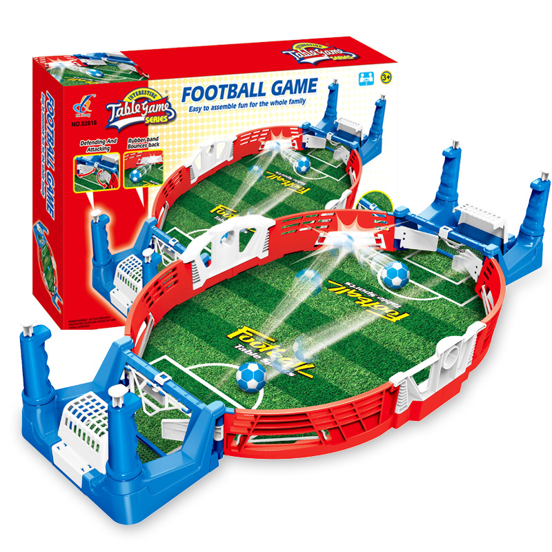 Mini Football Board Match Game Kit Tabletop Soccer Toys For Kids Educational Sport Outdoor Portable Table Games Play Ball Toys image