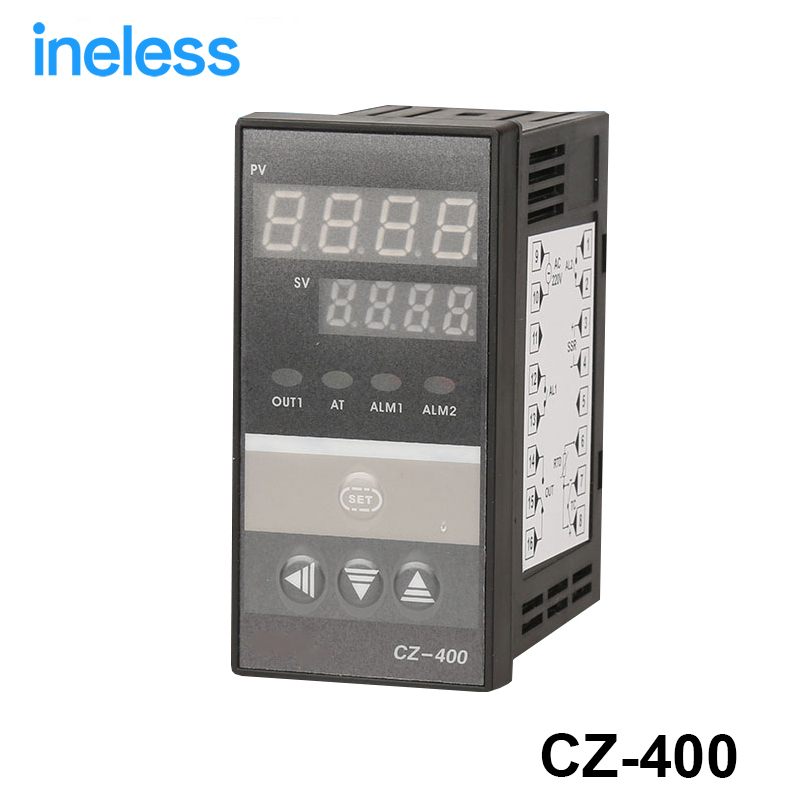 PID Digital Temperature Controller RKC REX-C400 Universal Input Relay Output Vertical type for Automatic Packing Machine rex c100 digital pid temperature control controller thermostat thermometer relay output