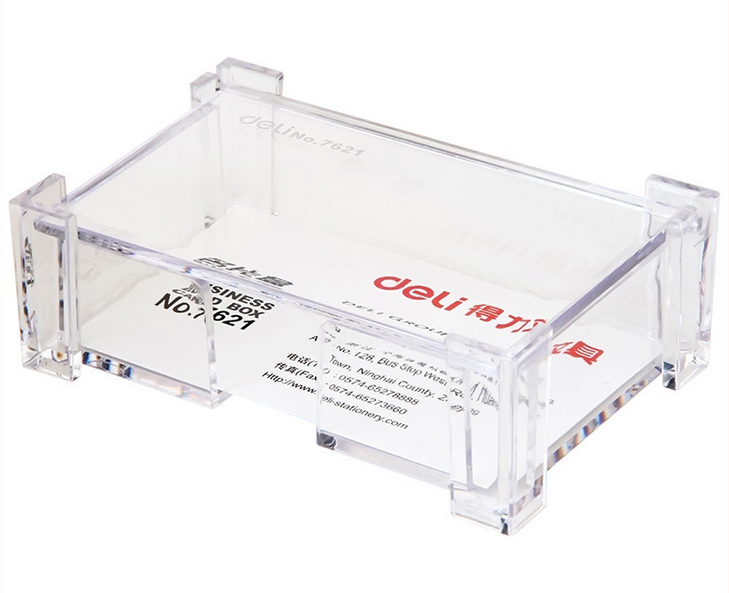 card storage office equipment supply plastic with metal card case