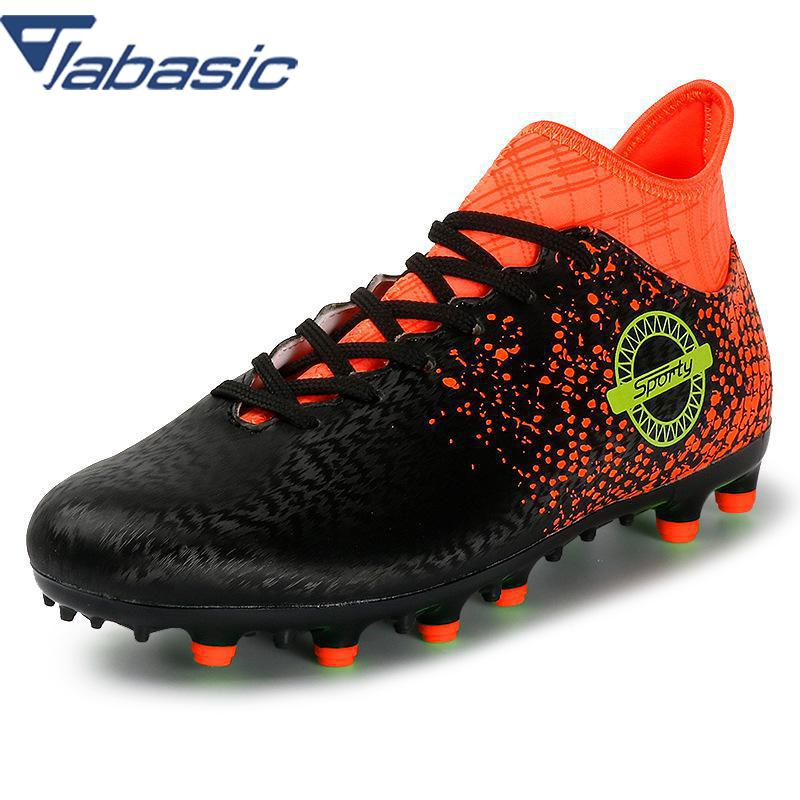 45335d052 JABASIC Professional Soccer Shoes Men Outdoor Antiskid DMX Athletic  Trainers Sneakers Adults Football Boots Chuteira Futebol