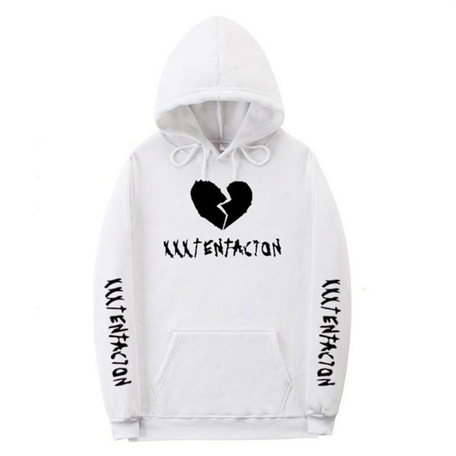 Xxxtentacion Hoodie Sad Men Sweatshirts Rapper Hip Hop Hooded Pullover Sweatershirts  Swag Hoody Cotton Revenge Kill Long Sleeve