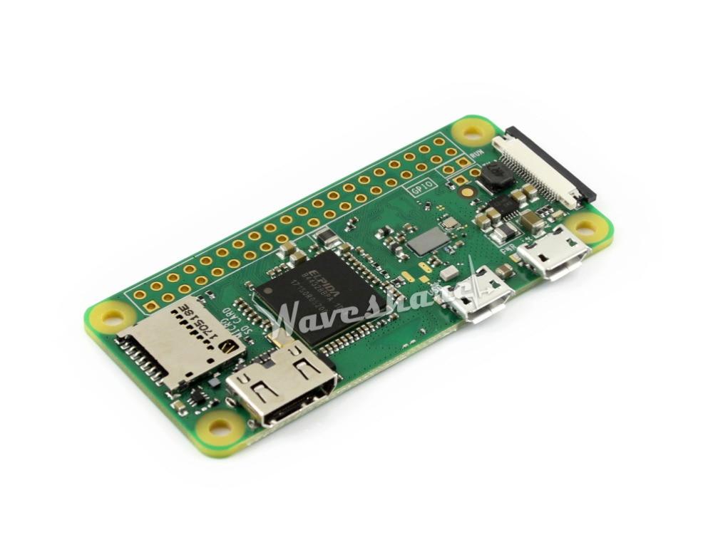 Raspberry Pi Zero W BCM2835 1GHz ARM11 Single Core Processor 512MB RAM with Built-in WiFi & Bluetooth Wireless Starter Kit