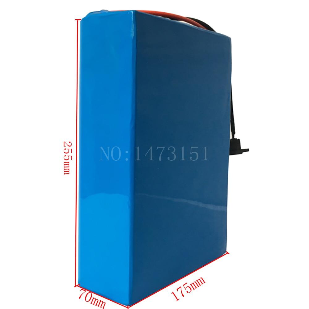 Bateria 48V 1000W 2000W 2000W 48v 20ah bateri elektrike biçikletë - Çiklizmit - Foto 3