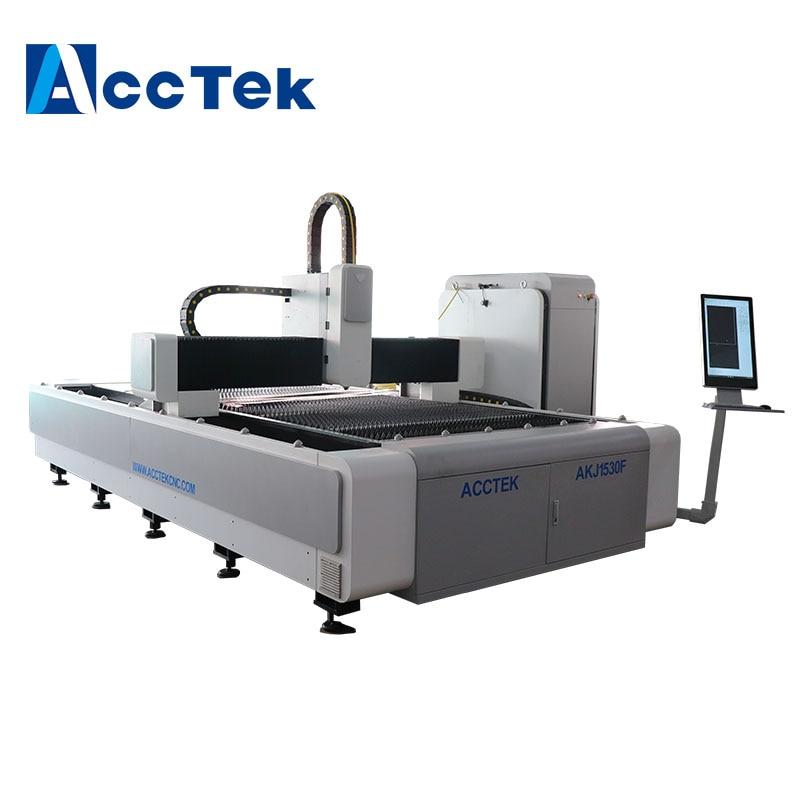 AccTek High Precision 3015 Fiber Laser Cutting Machine 3kw 3.3kw