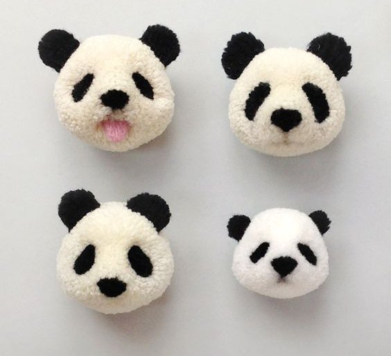 2017NEW LOT 4PCS Set 4 Sizes POM-POM Maker Fluff Ball Weave Needlecraft Knitting DIY Needle Craft Wool Tool FOR ADDI CLOVER PRYM