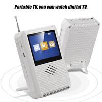 Japanese Signal Dedicated For Japan ISDB T Digital Television Handheld Mini TV Support Radio TF card U Disk Audio Video Player