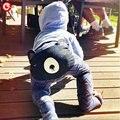 3pcs/lot 2016 Spring/Autumn Baby Boys Pants Casual PP Harem Girls 3D Bear Design Brand Trousers Kids Boy Clothing Size 70-100