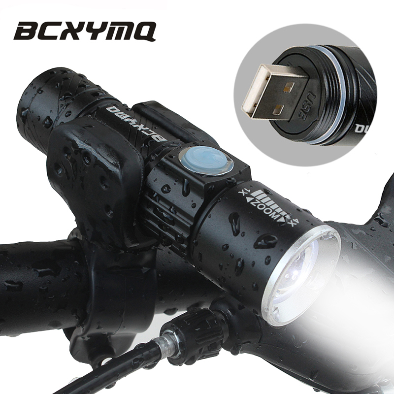 2000 Lumen USB Rechargeable Bicycle Light MTB Bike Light Zoom Flashlight Waterproof Built-in Battery Bicycle Accessories мюзикл лукоморье 2018 11 25t12 00