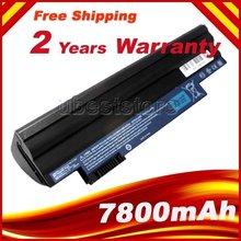 7800 мАч аккумулятор для ноутбука acer Aspire One 522 D255 722 AOD255 AOD260 D255E D257 D257E D260 D270 AL10A31 AL10B31 AL10G31