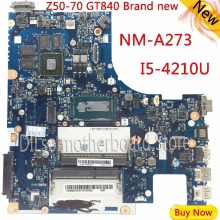 KEFU G50-70M For Lenovo G50-70 Z50-70 i5 motherboard ACLUA/ACLUB NM-A273 Rev1.0  with graphics card 100% tested