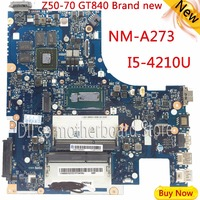 For Lenovo G50 70 I5 Motherboard ACLUA ACLUB NM A273 Rev1 0 With Graphics Card 100