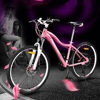 جديد تماما 27 سرعة سبائك الألومنيوم الدراجة الجبلية إطار انخفاض مدى 26 بوصة المرأة في الرياضة بنات الإنحدار bicicleta دراجة