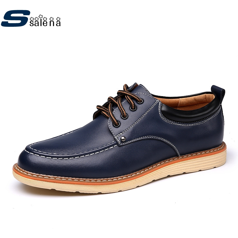 Casual Shoes Men New Design Flats Leather Shoes Good Quality Men Working Shoes Size 38-44 AA10213 male casual shoes soft footwear classic men working shoes flats good quality outdoor walking shoes aa20135