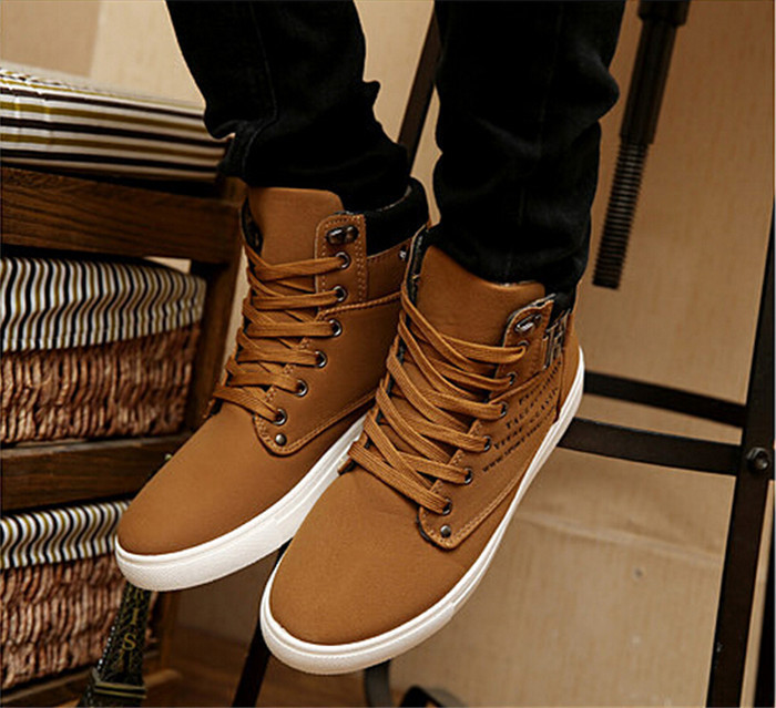 1pair Spring Autumn Shoes Warm Men Shoes Tenis Masculino Male Men's Comfortable Casual Shoes Canvas Botas