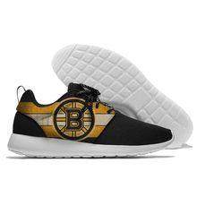 Спортивная обувь мужские носки тапки Для женщин дышащая унисекс Spring2019 Бостон Брюинз обувь на шнуровке