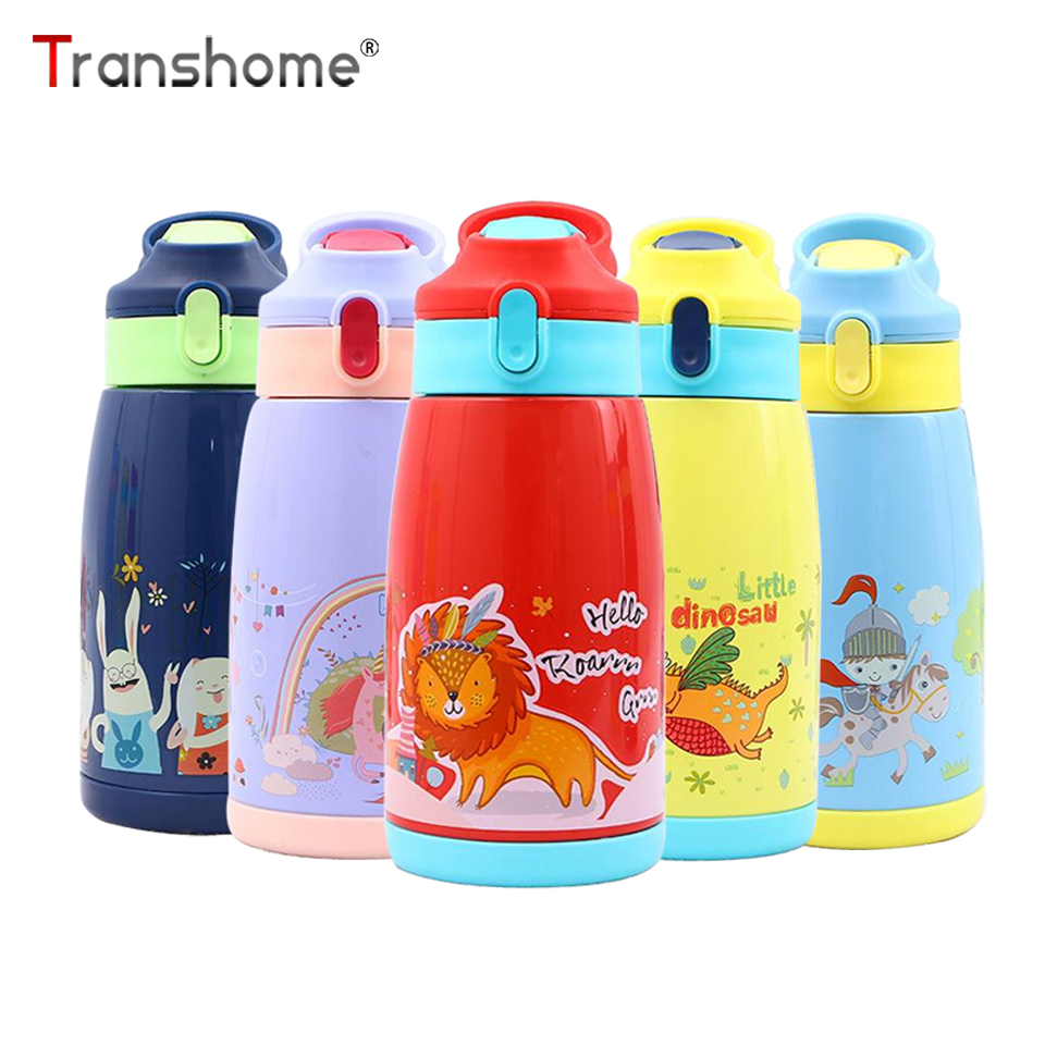 Transhome Thermos-Bottle Stainless-Steel Kids Children with Vacuum for Mug-Cup