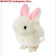 Infant Children Toys Hopping Wind Up Easter Bunny Great Soft Plush Animals Interesting Toys Fun Funny Gadgets Kid Birthday Gift(China)
